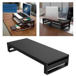 Metal Computer PC Monitor Stand Riser Support Table Desk Organizer Sturdy $65.84