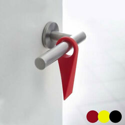 Door Stopper Wedge Hardware Convenient Wall Non Punching Soft Protector Silicone $8.13