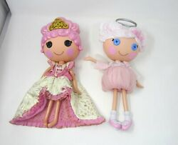 Lot 2 LALALOOPSY Goldie Lux amp; Cloud E. Sky LARGE Dolls 2012 13 LIMITED HOLIDAY $38.99