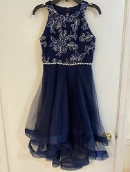 Party girls dress size 12 $25.00