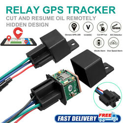 GPS Car Tracker Hidden Real Time Device Locator Remote Control Anti theft 10 40V $22.59