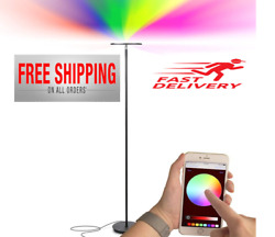 Modern Lamp Floor Led Light Standing Dimmable Reading Home Touch Control App $82.99