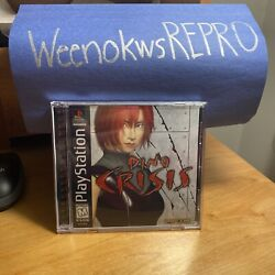 Dino Crisis Sony PlayStation 1 1999 Reproduction CASE ARTWORK ONLY $13.99