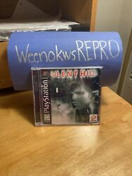 Silent Hill PlayStation 1 1999 Reproduction Case No Disc Ps1 $13.99