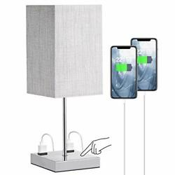 Bedroom Lamps for Nightstand Doowo Touch Control Table Lamp 175in Height 3 Wa... $36.86