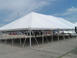40x100#x27; A GRADE used Commercial pole traditional Party TENT George Maser