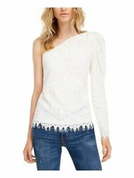 LEYDEN Womens White Long Sleeve Top Party Juniors Size: XS $5.99