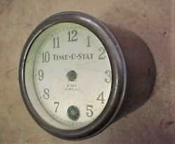 Vintage 1932 Time O Stat Clock Timer for Home Thermostat Control 8 Day