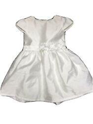 Carter#x27;s baby Girls White Dress Easter Size 24 Months $6.99