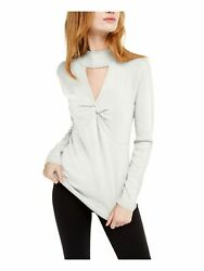 INC Womens Cut Out Long Sleeve Keyhole T Shirt Top $3.99
