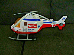 Collectible TONKA Helicopter Battery Operated 2001 #03213 Not working For Parts $10.40