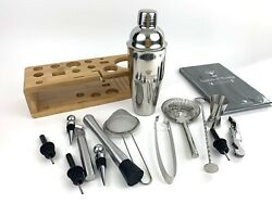17 Piece Royal Reserve Finest Bar Accessories Cocktail and Mixology Kit $32.00