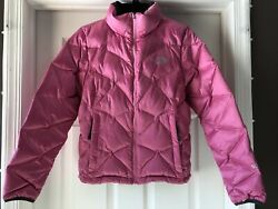 The North Face Aconcagua Insulated Puffer Jacket Womens Size Small 550 Down Pink $32.75