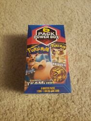 Pokemon Mystery 6 Pack Power Box AWESOME $59.99