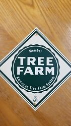 VINTAGE TREE FARM SIGNS N.O.S $18.00