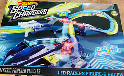 Hot Wheels Circuit Speedway Track Set Speed Chargers Electric Powered Cars $59.99