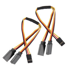 5Pcs 150mm Y Style Extension Extend Lead Wire Cable For Hitec Servo RC Plane Kit $10.99