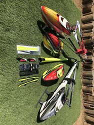 RC HELICOPTERS 1 Align T Rex 700X Dominator 850MX 1 SAB Goblin 570 PLEASE READ $1600.00
