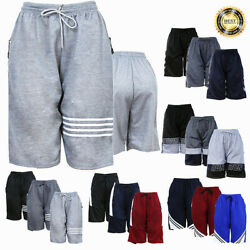 Men Basketball Shorts Mesh Quick Dry Gym Workout Sport Pants with Side 2 Pockets $9.99