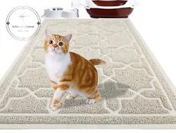 XL Large Cat Litter Box Mat Pad Pet Kitty Clean Easy Cleaning Floor Protecter $23.52