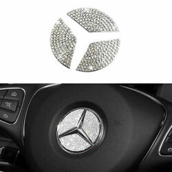 Car Steering Wheel Cover Crystal Cover Diamond Stickers Bling For Benz $8.95
