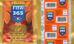 FIFA 365 2020 two full bags MINT East Europe edition $3.99