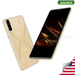 Xgody 2021 New Unlocked Cell Phone Android Smartphone Dual SIM Quad Core Cheap $61.74