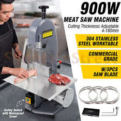 900W Meat Bone Saw Machine Meat Cutting Machine Commercial Grade Cutting Bone