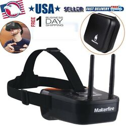 5.8Ghz Mini FPV Goggles 3inch 40CH Video Headset Glasses for FPV Racing DroneNEW $44.99