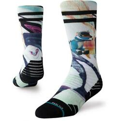 STANCE KIDS UNISEX SOCKS ASTRO DOG Y SNOW NAVY MEDIUM $13.95