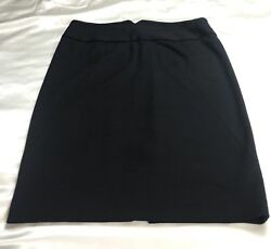 Adrienne Vittadini Skirt Women's Size 12 Black A line $11.19