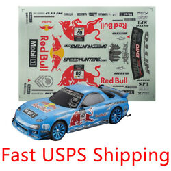 Decals Sticker for 1 10 scale rc racing touring drift car body RX7 $12.99