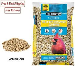 Pennington Select Sunflower Chips Wild Bird Feed and Seed 5 lb. Bag $14.89