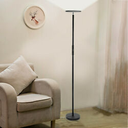 Dimmable LED Floor Lamps Tall Standing Modern Pole Light With Remote Control 30W $84.96