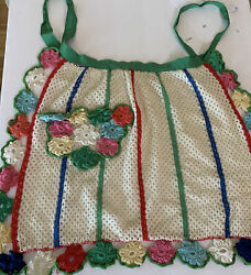 Crochet Piece For DIY Crafts Clothes Vintage Inspired Soft Yarn 20x14 $14.00