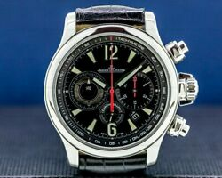 Jaeger LeCoultre Master Compressor Chronograph 2 SS BOX PAPERS $6950.00