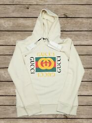Gucci Hooded Oversized Sweatshirt Gucci Vintage For Men Size XL $199.00