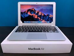 APPLE MACBOOK AIR 11 INCH LAPTOP TURBO BOOST 3 YEAR WARRANTY SSD $349.00