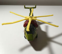 military helicopter toy 2002 $11.00