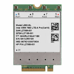 4G LTE FDD Module Network Card Cat16 150Mbps 1Gbps M.2 WCDMA PCIe For HP L860 GL $65.99