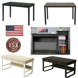 Study Computer Desk Home Office Writing Small DeskModern Simple Style Table USA $82.64