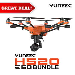 Yuneec H520 E50 System H520 airframe E50 3 axis Gimbal Camera ST16S amp; more $2599.99