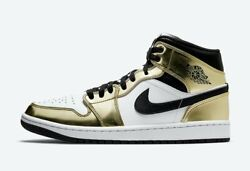 Nike Air Jordan 1 Mid Gold Size 11 Order Confirmed $155.00
