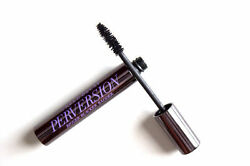Urban Decay PERVERSION MASCARA Blackest Black Full Size New in Box*