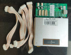 Bitmain Antminer S9 13.5T Control Board and 5x 18 ping data cables $89.99