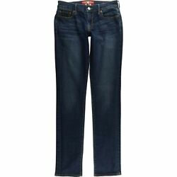 Lucky Brand Sweet N Straight Jeans Women#x27;s 2 26 Long Low Rise A139