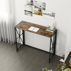 Folding Table Desk Small Computer Laptop Desk Study Reading Table for Home $63.98