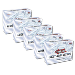 YuGiOh Ghosts from the Past Display Box 5 mini boxes FACTORY SEALED $110.56