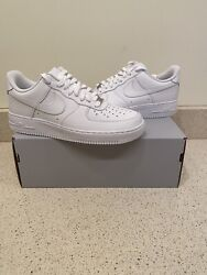 Nike Air Force 1 Low Triple White '07 BRAND NEW Mens Sizes $124.95