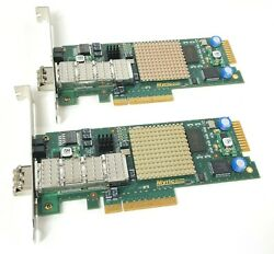 Lot of 2 Myricom 10G PCIE 8A R PCIE 10GbE Ethernet Network Adapter Card $54.95